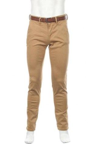 Ανδρικό παντελόνι Tom Tailor, Μέγεθος S, Χρώμα  Μπέζ, 98% βαμβάκι, 2% ελαστάνη, Τιμή 25,23€