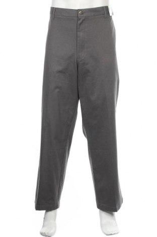 Мъжки панталон Wrangler, Размер XL, Цвят Сив, Памук, Цена 15,49лв.