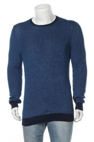 Ανδρικό πουλόβερ S.Oliver, Μέγεθος M, Χρώμα Μπλέ, 60% λινό, 40% βαμβάκι, Τιμή 22,94€