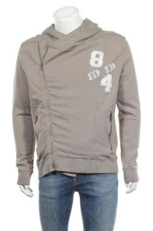 Ανδρικό φούτερ Desigual, Μέγεθος XL, Χρώμα  Μπέζ, Βαμβάκι, Τιμή 29,62€