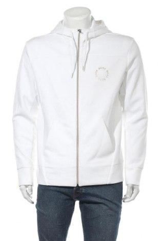 Pánská mikina  Hugo Boss, Velikost L, Barva Bílá, 51% polyester, 49% bavlna, Cena  2846,00Kč