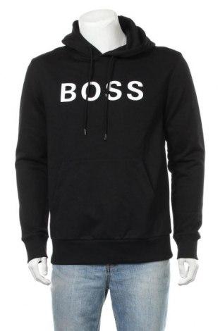 Pánská mikina  Hugo Boss, Velikost L, Barva Černá, Bavlna, Cena  2317,00Kč