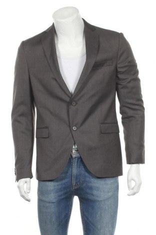 Ανδρικό σακάκι Cinque, Μέγεθος M, Χρώμα Γκρί, 55% πολυεστέρας, 45% μαλλί, Τιμή 28,39€