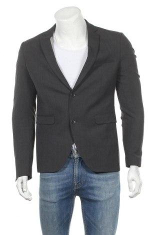 Ανδρικό σακάκι Cinque, Μέγεθος M, Χρώμα Γκρί, 52% πολυεστέρας, 44% μαλλί, 4% ελαστάνη, Τιμή 133,51€