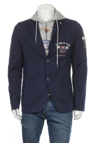 Pánské sako  Desigual, Velikost L, Barva Modrá, Polyester, Cena  866,00Kč