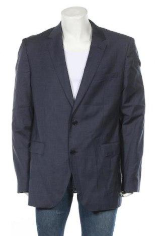 Sacou de bărbați Hugo Boss, Mărime XL, Culoare Albastru, Lână, Preț 314,80 Lei