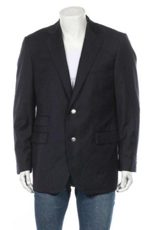 Ανδρικό σακάκι Paul Rosen, Μέγεθος L, Χρώμα Μπλέ, Μαλλί, Τιμή 73,26€