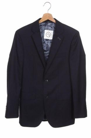 Ανδρικό σακάκι Paul Rosen, Μέγεθος S, Χρώμα Μπλέ, Μαλλί, Τιμή 13,55€