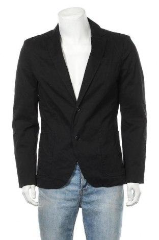 Ανδρικό σακάκι Tom Tailor, Μέγεθος L, Χρώμα Μαύρο, 97% βαμβάκι, 3% ελαστάνη, Τιμή 23,64€