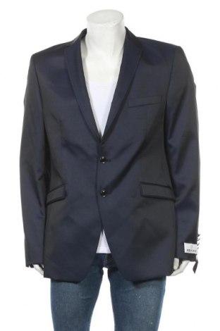 Ανδρικό σακάκι Wilvorst, Μέγεθος L, Χρώμα Μπλέ, 50% μαλλί, 50% πολυεστέρας, Τιμή 16,88€