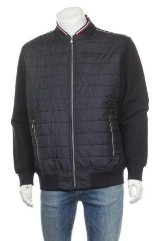 Мъжко яке Christian Berg, Размер XL, Цвят Син, 91% памук, 7% полиестер, 2% еластан, Цена 86,00лв.