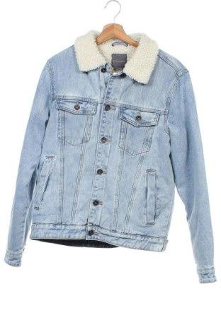 Ανδρικό μπουφάν Cotton On, Μέγεθος S, Χρώμα Μπλέ, Βαμβάκι, Τιμή 29,79€