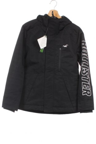 Ανδρικό μπουφάν Hollister, Μέγεθος XS, Χρώμα Μαύρο, Πολυεστέρας, Τιμή 29,73€