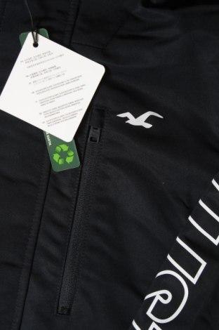Ανδρικό μπουφάν Hollister, Μέγεθος XS, Χρώμα Μαύρο, Πολυεστέρας, Τιμή 23,21€