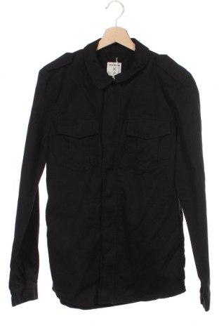 Ανδρικό μπουφάν Tom Tailor, Μέγεθος S, Χρώμα Μαύρο, 100% βαμβάκι, Τιμή 16,62€