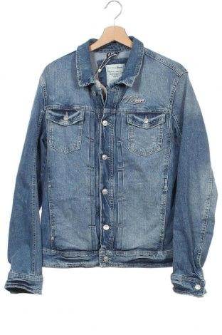 Ανδρικό μπουφάν Tom Tailor, Μέγεθος M, Χρώμα Μπλέ, 99% βαμβάκι, 1% ελαστάνη, Τιμή 35,24€