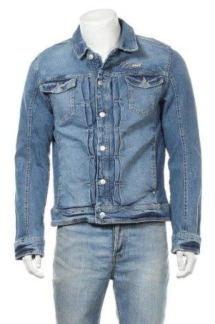 Мъжко яке Tom Tailor, Размер L, Цвят Син, 99% памук, 1% еластан, Цена 81,76лв.
