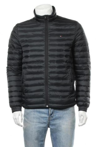 Ανδρικό μπουφάν Tommy Hilfiger, Μέγεθος M, Χρώμα Μαύρο, Πολυαμίδη, φτερά και πούπουλα, Τιμή 148,97€