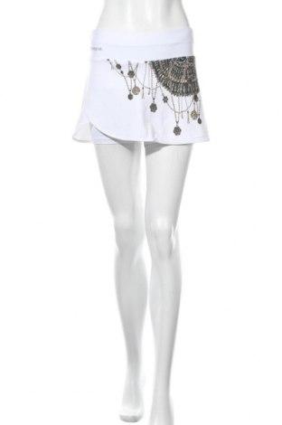 Sukně- kalhoty  Desigual, Velikost M, Barva Bílá, 87% polyester, 13% elastan, Cena  395,00Kč