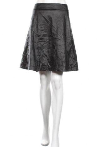 Φούστα City Chic, Μέγεθος XXL, Χρώμα Μαύρο, Δερματίνη, Τιμή 15,43€