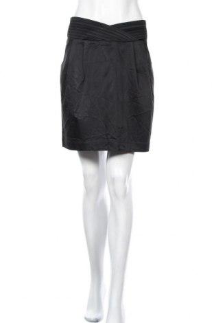 Φούστα Forever New, Μέγεθος XL, Χρώμα Μαύρο, 82% ασετάτ, 16% βισκόζη, 2% ελαστάνη, Τιμή 14,19€