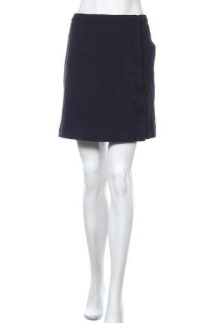 Φούστα Forever New, Μέγεθος XL, Χρώμα Μπλέ, 64% πολυεστέρας, 32% βισκόζη, 4% ελαστάνη, Τιμή 10,23€