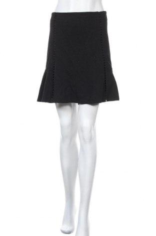 Φούστα Forever New, Μέγεθος XL, Χρώμα Μαύρο, 83% πολυεστέρας, 15% βισκόζη, 2% ελαστάνη, Τιμή 17,90€
