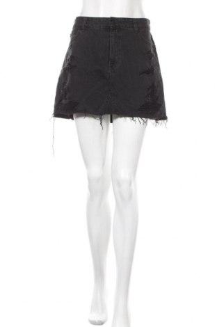 Φούστα Hollister, Μέγεθος M, Χρώμα Γκρί, Βαμβάκι, Τιμή 12,06€