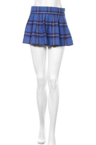 Φούστα Hollister, Μέγεθος S, Χρώμα Μπλέ, 80% βαμβάκι, 20% μαλλί, Τιμή 11,14€