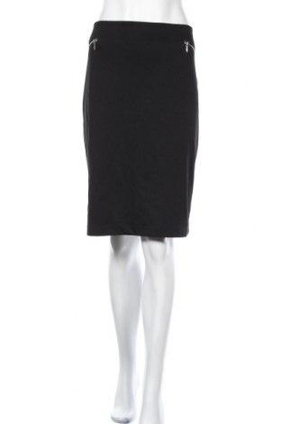 Φούστα Khoko, Μέγεθος XL, Χρώμα Μαύρο, Πολυεστέρας, βισκόζη, ελαστάνη, Τιμή 14,81€