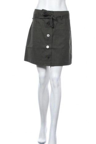 Φούστα Oasis, Μέγεθος S, Χρώμα Πράσινο, 98% βαμβάκι, 2% ελαστάνη, Τιμή 18,95€