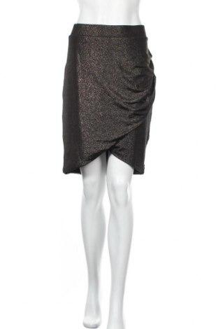 Φούστα Sussan, Μέγεθος XL, Χρώμα Χρυσαφί, 97% πολυεστέρας, 3% ελαστάνη, Τιμή 16,89€
