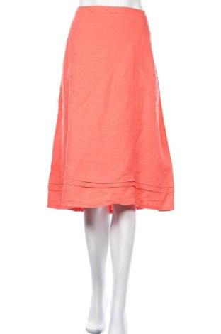 Φούστα W. Lane, Μέγεθος XL, Χρώμα Πορτοκαλί, Λινό, Τιμή 22,08€