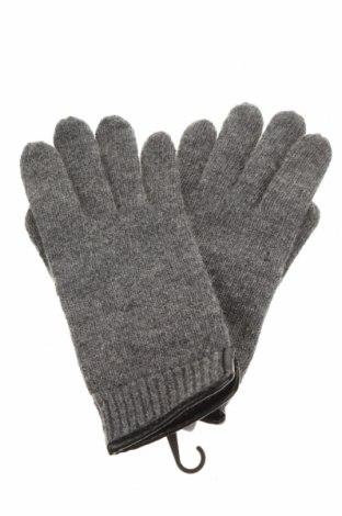 Ръкавици Eem, Цвят Сив, Вълна, Цена 9,66лв.