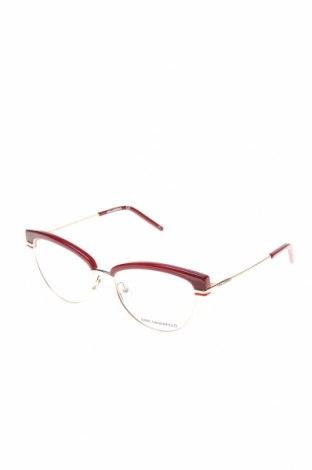Σκελετοί γυαλιών  Karl Lagerfeld, Χρώμα Κόκκινο, Τιμή 59,59€