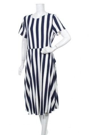 Φόρεμα, Μέγεθος XL, Χρώμα Μπλέ, 97% πολυεστέρας, 3% ελαστάνη, Τιμή 18,51€
