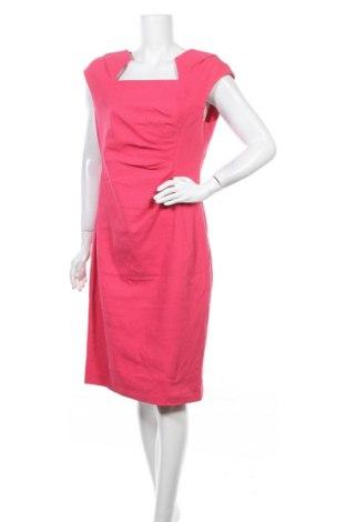 Рокля Anthea Crawford, Размер XL, Цвят Розов, 72% памук, 24% полиестер, 4% еластан, Цена 53,87лв.