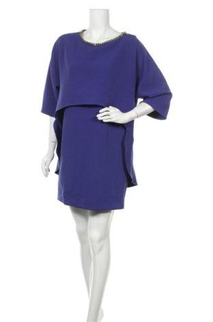Рокля Atos Lombardini, Размер XL, Цвят Син, 94% полиестер, 6% еластан, Цена 48,65лв.