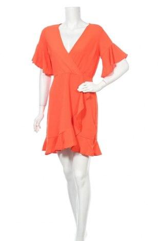 Рокля Ax Paris, Размер M, Цвят Оранжев, Полиестер, Цена 31,05лв.
