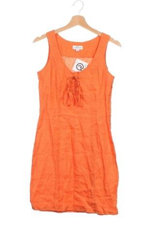Φόρεμα Best Connections, Μέγεθος XS, Χρώμα Πορτοκαλί, Λινό, Τιμή 20,78€