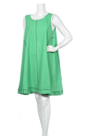 Φόρεμα COS, Μέγεθος L, Χρώμα Πράσινο, 50% βαμβάκι, 27% ελαστάνη, 23% πολυεστέρας, Τιμή 82,25€