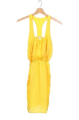 Φόρεμα Charlotte Russe, Μέγεθος XS, Χρώμα Κίτρινο, 100% πολυεστέρας, Τιμή 18,84€