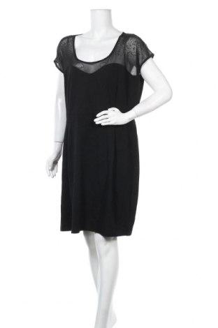 Φόρεμα City Chic, Μέγεθος XXL, Χρώμα Μαύρο, 60% βισκόζη, 35% πολυεστέρας, 5% ελαστάνη, Τιμή 17,90€