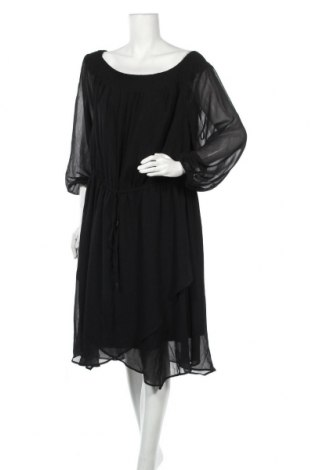 Φόρεμα City Chic, Μέγεθος 3XL, Χρώμα Μαύρο, Πολυεστέρας, Τιμή 17,28€
