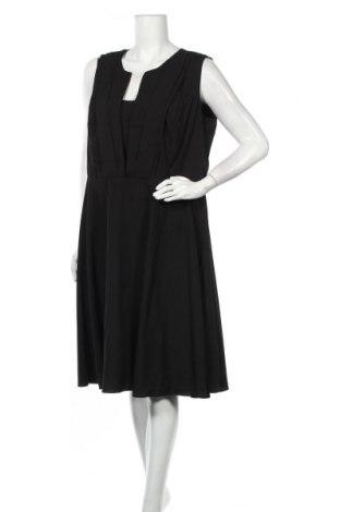 Φόρεμα City Chic, Μέγεθος XXL, Χρώμα Μαύρο, 95% πολυεστέρας, 5% ελαστάνη, Τιμή 17,54€