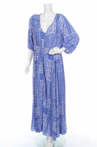 Φόρεμα City Chic, Μέγεθος 3XL, Χρώμα Μπλέ, 95% πολυεστέρας, 5% ελαστάνη, Τιμή 17,28€