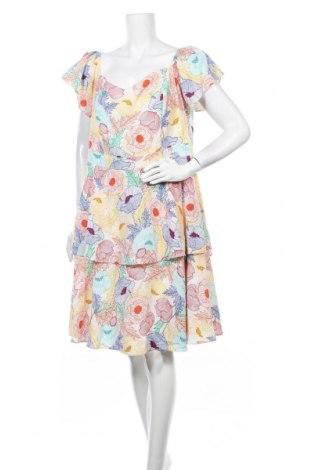 Φόρεμα City Chic, Μέγεθος XXL, Χρώμα Πολύχρωμο, 95% πολυεστέρας, 5% ελαστάνη, Τιμή 24,94€