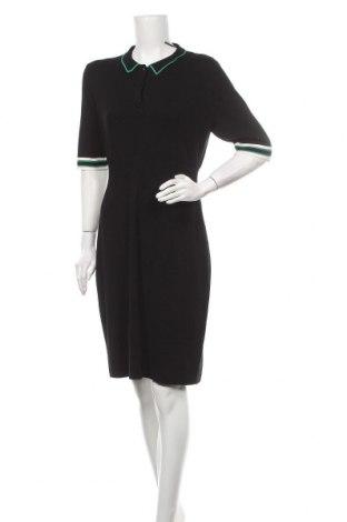 Φόρεμα Comma,, Μέγεθος L, Χρώμα Μαύρο, 81% βισκόζη, 19% πολυαμίδη, Τιμή 43,56€