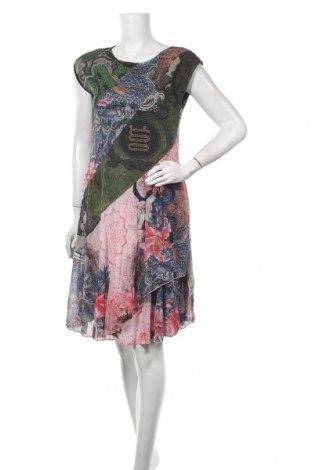 Šaty  Desigual, Velikost L, Barva Vícebarevné, Polyamide, Cena  1576,00Kč
