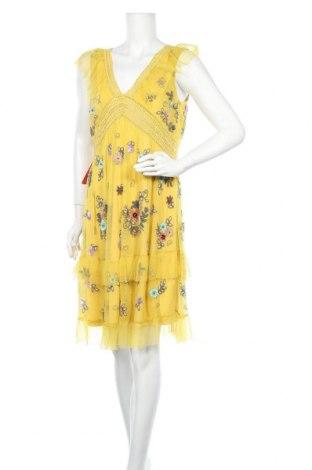 Φόρεμα Frock And Frill, Μέγεθος XL, Χρώμα Κίτρινο, Πολυεστέρας, Τιμή 34,39€